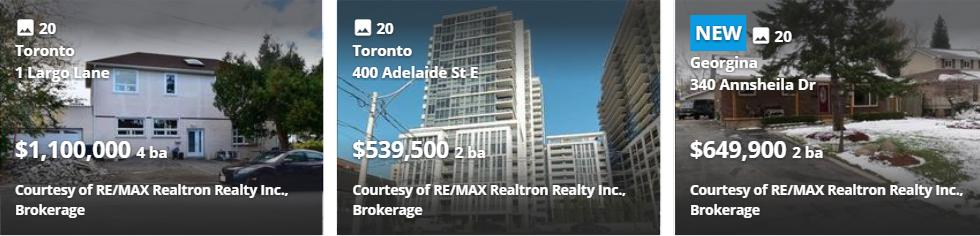 mls Listings toronto on Realtors4u brampton-on
